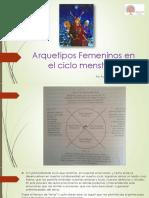 Arquetipos Femeninos en El Ciclo Menstrual