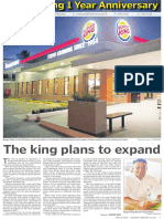 Burger King Martintar First Anniversary