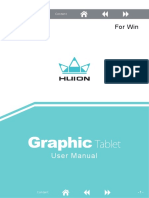 Huion Graphic Tablet User Manual(Win).pdf