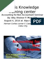 Accounting Seminar