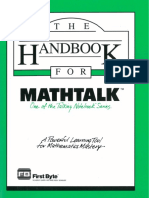 MathTalk Manual
