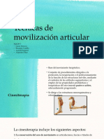 Técnicas de Movilización Articular