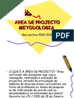 ÁREA DE PROJECTO  2010 -11