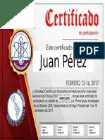 Certificado SOCEM