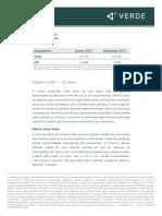 Carta de Aniversario Fundo Verde