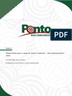 Tribunal Regional Federal Rio de Janeiro e Espirito Santo Tecnico Judiciario Area Administrativa Dir