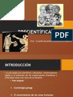 Psicología Precientifica