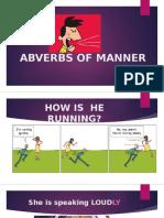 Abverbs of Manner