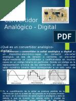 Convertidor Analógico - Digital