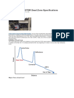 Understanding OTDR Dead Zone Specifications
