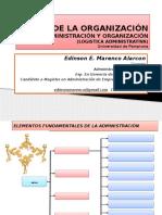 Diapositivas Teoria de La Organización