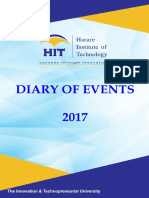Hit Diary of Events 2017