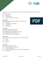 3D Intergrated Part 3 Exam Questions v2.1