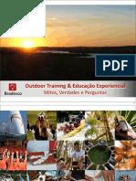 Palestra Outdoor Training e Educacao Experiencial