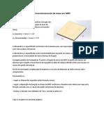 02 - Dimensionamento Mesa MDF