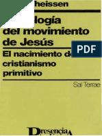 003theissen, Gerd - Sociologia Del Movimiento de Jesus
