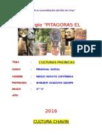 Trabajo - Culturas Preincas (Imagenes)