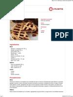 Pasta Frola