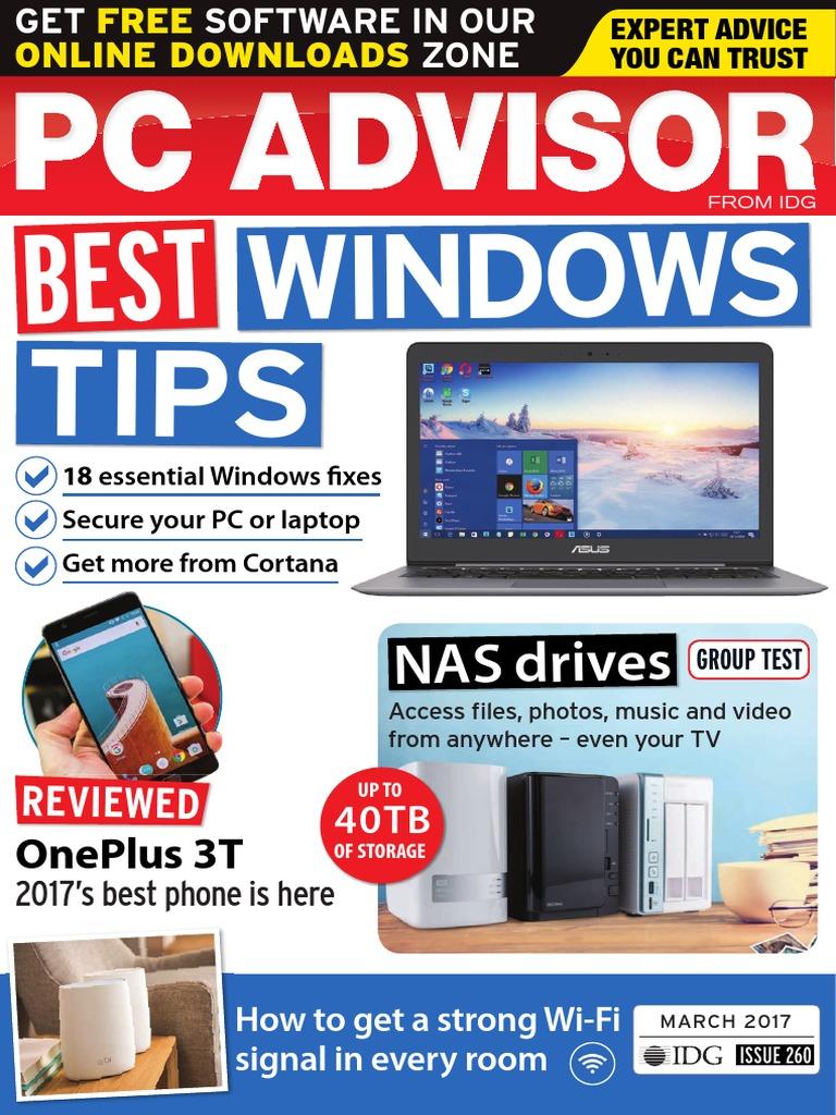 PC Advisor - March 2017 | Advanced Micro Devices | Multi Core Processor