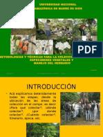 Metodos y Tecnicas Para Colectar Especimenes Vegetales 2016