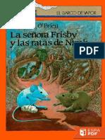 La Senora Frisby y Las Ratas de - Robert C. O'Brien