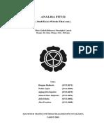 Analisis Fitur Tiket.com