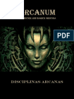 Arcanum - Livro de Disciplinas Arcanas