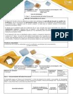 Guía de Actividades y Rubrica de Evaluación - Unidad 1 Fase 1 – Reconocimiento Del Estrés Psicosocial