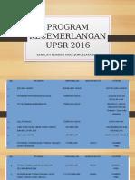 Program Kecemerlangan UPSR 2016 - Copy
