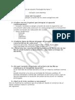 1 Primera Guía de Estudio Fisiología Humana 1