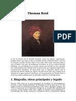 ANTOLOGIA Thomas Reid