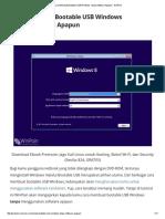 Cara Membuat Bootable USB Windows Tanpa Software Apapun - WinPoin