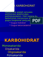 KUL III,IV _Karbohidrat_Struktur Dan Sifat
