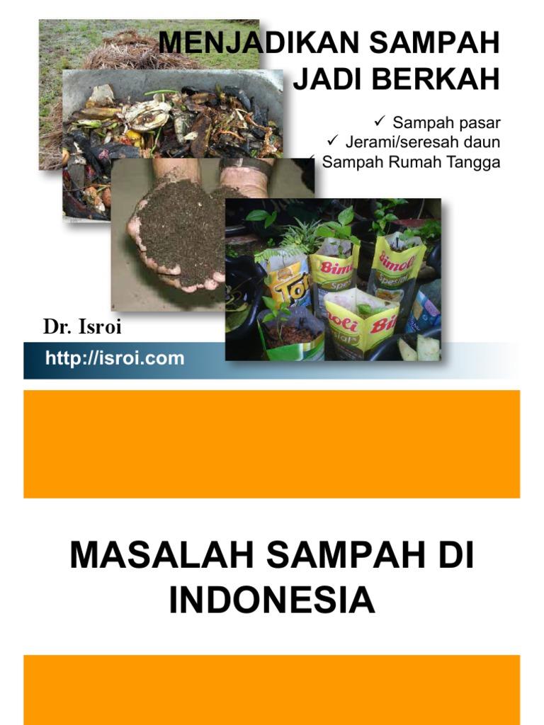 Presentasi Pengelolaan Sampah