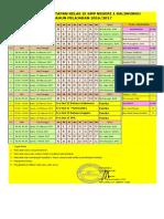 Jadwal Pemantapan Februari 2017
