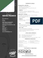 Curriculum Vitae Kevin Franco