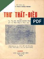 (1958) Thư Thất Điều Của Cụ Phan Châu Trinh Gửi Vua Khải Định Ở Pari Năm 1922
