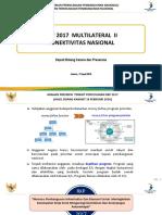 Multilateral Meeting II PN Konektivitas Nasional