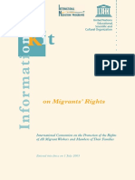 Information Kit on United Nations Convention on Migrants' Rights