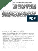 1.4-Administración de Tecnología