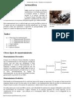 Mantenimiento Correctivo - Wikipedia, La Enciclopedia Libre