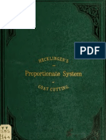 (1883) Proportionate System of Coat Cutting