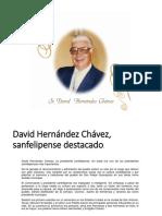 David Hernandez Chavez Presidente Municipal
