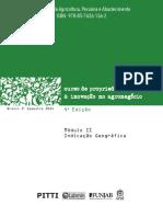 Curso de Propriedade Intelectual e Inovação No Agronegócio
