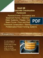 19 Concrete Form Work
