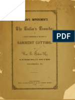(1862) Acton's Improvement on the Tailor's Transfer