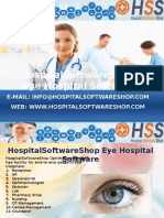 HospitalSoftwareShop - Eye Hospital Software