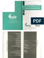 ENSAYO Impacto de La Transparencia en Las Politicas Publicas Un Cambio de Paradigmas