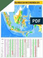 Peta Migas WK Indonesia Nov 2016