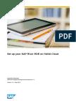 How to Set Up Your SAP River RDE on HANA Cloud